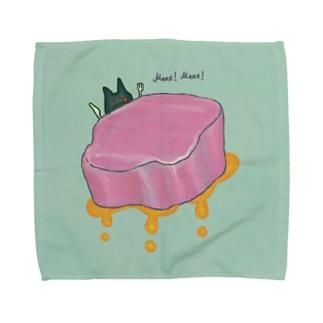 Meat! Meat! Towel handkerchiefs