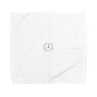すあま商會保護猫ロゴ Towel handkerchiefs