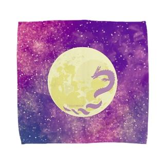 龍がツキを呼ぶ!!DRAGOMOON Towel handkerchiefs