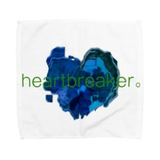 壊れたココロ Towel handkerchiefs
