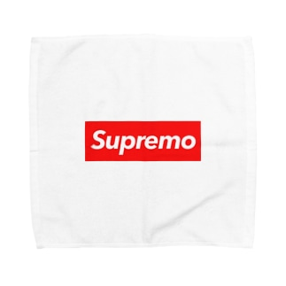 Supremo red Towel handkerchiefs