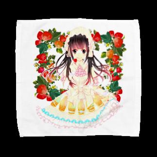 有坂愛海ショップのStrawberry  warS  Towel handkerchiefs