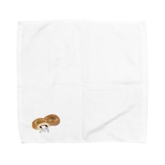 あんぱん(ヒト入り) Towel handkerchiefs