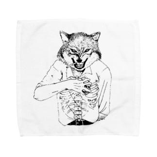 点かないタバコ Towel handkerchiefs