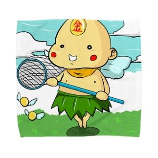 ポイン@ハイパーニート Towel handkerchiefs