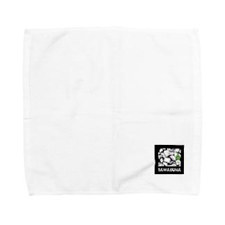 SA WA GU NA Towel handkerchiefs