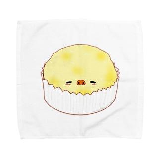 卵蒸しパン Towel handkerchiefs