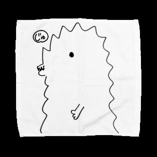 宮澤寿梨のじゅ印良品の『半じゅじら』タオルハンカチ サイズ選択可能 タオルハンカチ