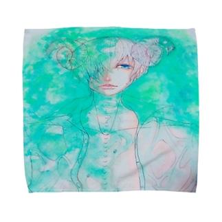 オリジナルイラスト  グッズ Towel handkerchiefs