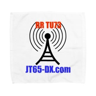 JT65-DX.com 公式グッズ タオルハンカチ