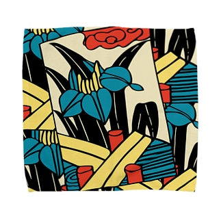 花札【5月・皐月】 Towel handkerchiefs