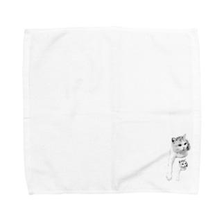 にひきのみゅう Towel handkerchiefs