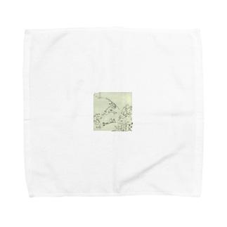 鳥獣人物戯画 Towel handkerchiefs