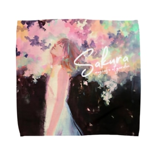 Sakura by日端奈奈子 Towel Handkerchief