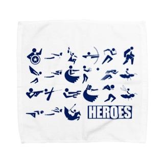 HEROES Towel handkerchiefs