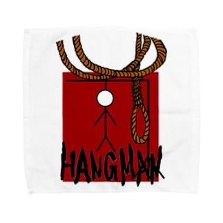 HANGMAN Towel handkerchiefs