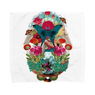 コラージュグッズ Towel Handkerchief