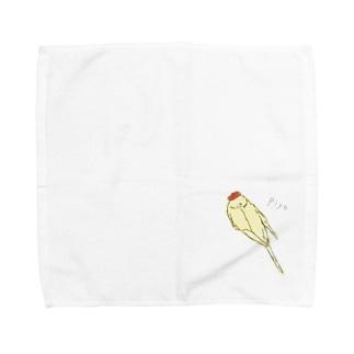 アートなピヨちゃん Towel Handkerchief