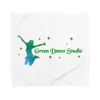 グリーンダンススタジオ Towel Handkerchief