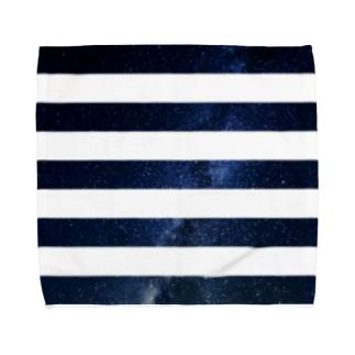 BBOY CHIBOWのborder Towel handkerchiefs