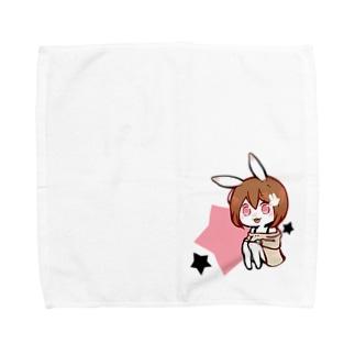 らぱぱはんかちーふ Towel handkerchiefs