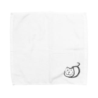 ねこ太郎 Towel handkerchiefs
