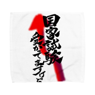 自慢じゃなくて事実 Towel handkerchiefs