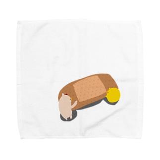 ばんそうこう。 Towel handkerchiefs