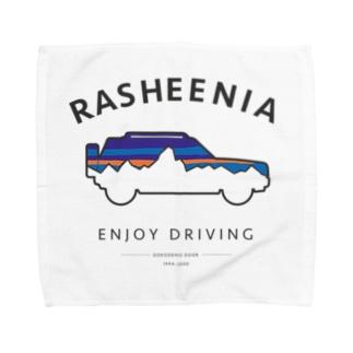 rasheeniaアーチ(フロントプリント) Towel Handkerchief