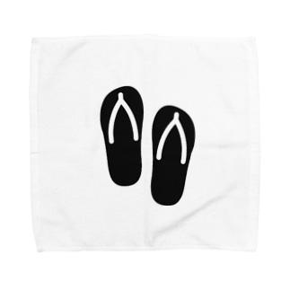 サンダル Towel handkerchiefs