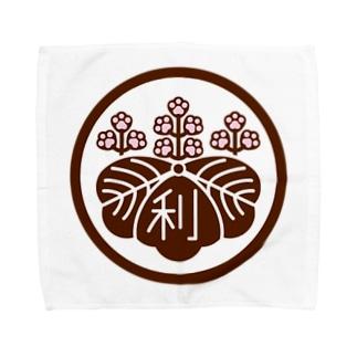 パ紋No.3011 利 Towel handkerchiefs