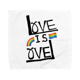 LOVE IS LOVE Towel handkerchiefs
