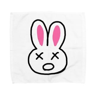 まちがいうさぎ Towel handkerchiefs