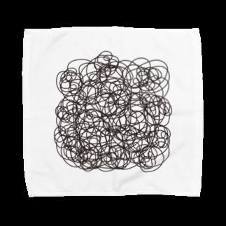 こだまの胸毛 Towel handkerchiefs