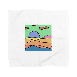 背景 Towel Handkerchief