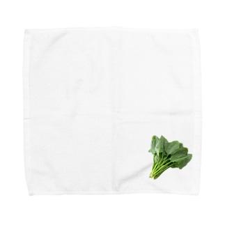 ほうれん草 Towel handkerchiefs