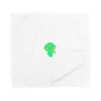パセリに任セロリ Towel handkerchiefs
