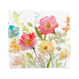 水彩花 Towel handkerchiefs