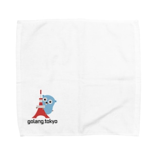 golang.tokyo Towel handkerchiefs