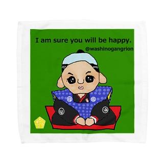 福助人形 Towel handkerchiefs