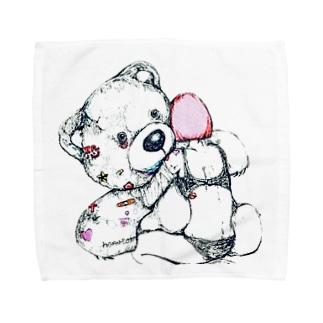 甘ったるい Towel handkerchiefs