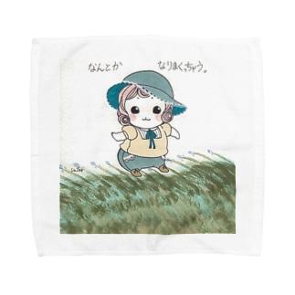 なんとかなりまくっちゃう。 Towel handkerchiefs
