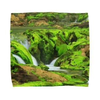 Toshiaki Sakuraiの苔の間 Towel handkerchiefs