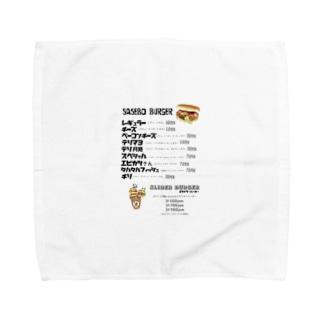グーフィーメニューシリーズ Towel Handkerchief