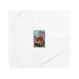 ふぁみこん Towel handkerchiefs