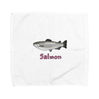 salmon Towel handkerchiefs