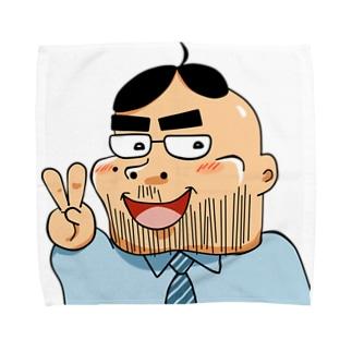ヨシダくん Towel handkerchiefs