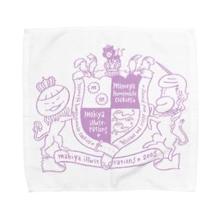 槇屋まめ屋ダブルネーム Towel handkerchiefs