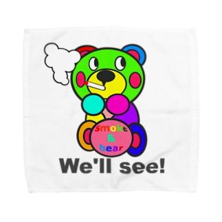 一服モクモックマ  カラフル オリジナルアイテム  Towel handkerchiefs