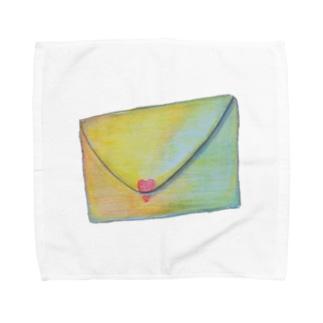 letter Towel Handkerchief